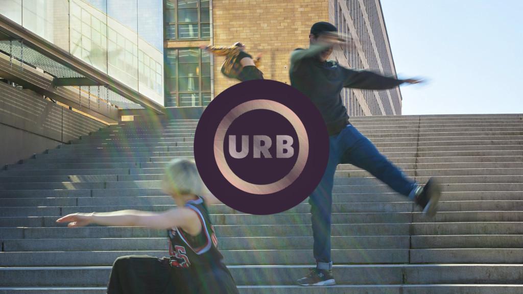 URB16 festival logo.