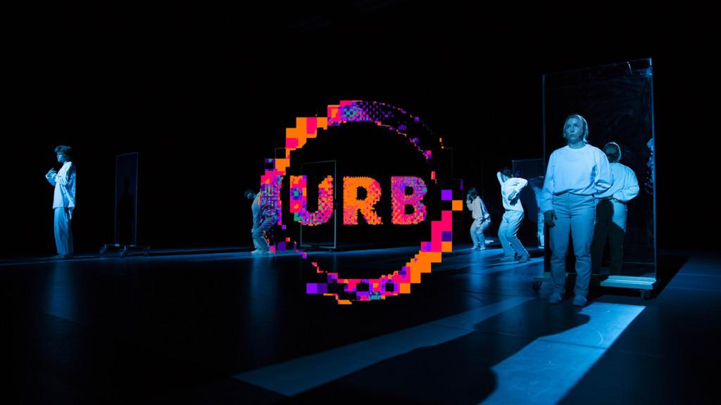 URB18 festival logo.