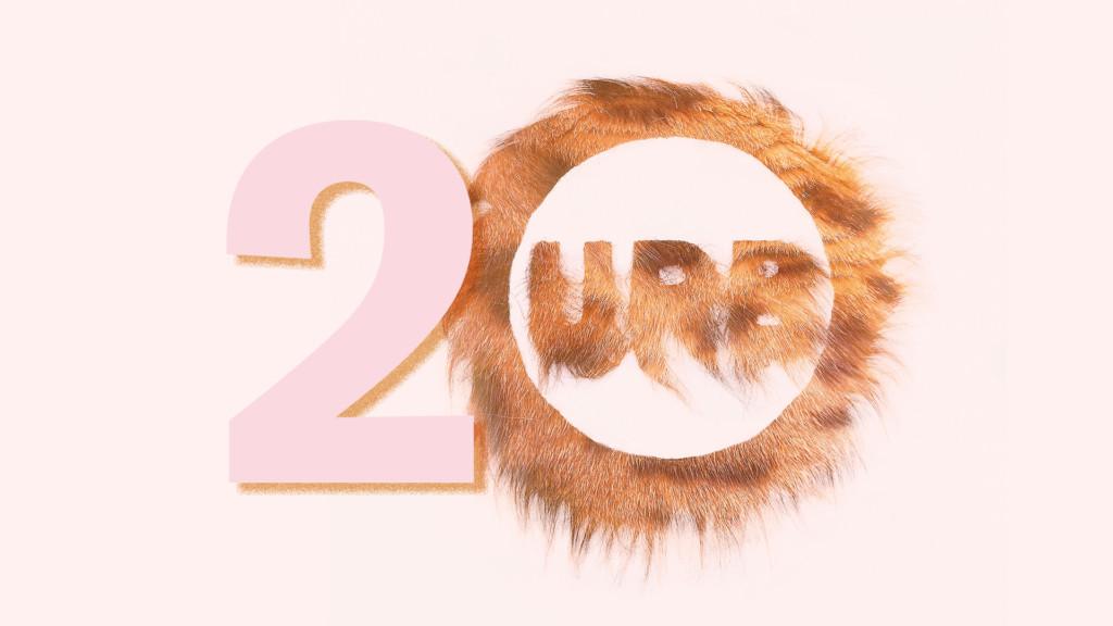 URB-festivaali 20 vuotta. Logo.
