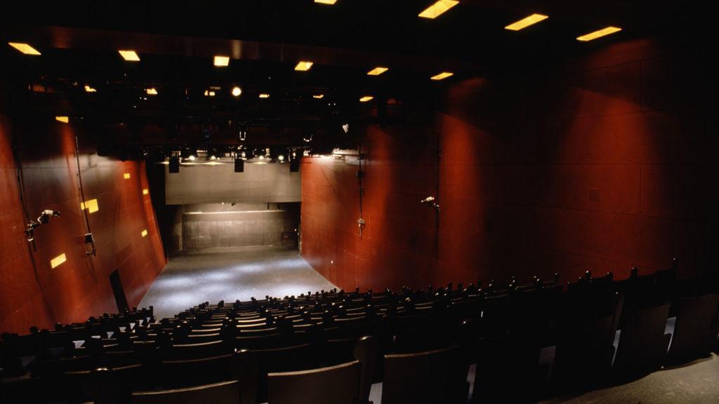 Kiasma-teatterin sali.