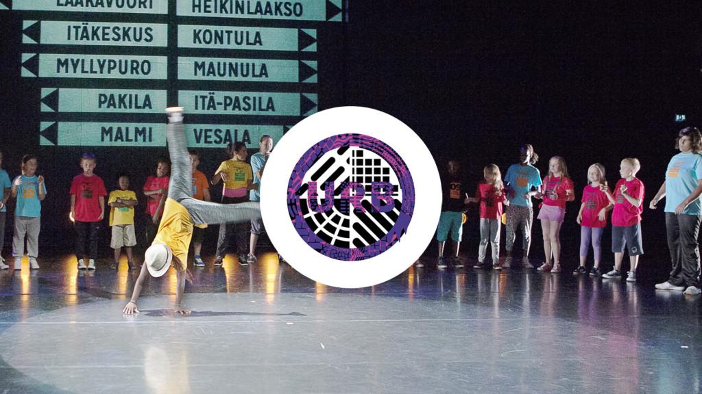 URB13 festival logo.