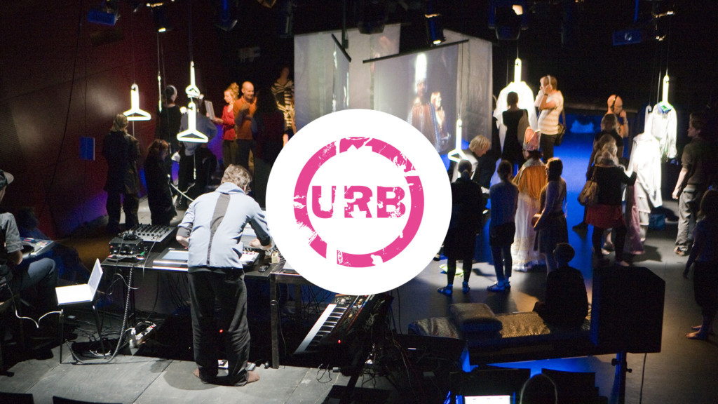 URB09 festival logo.