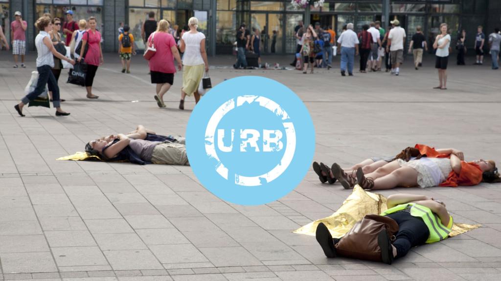 URB10 festival logo.